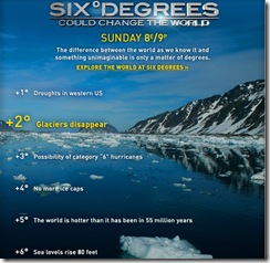 six degrees change