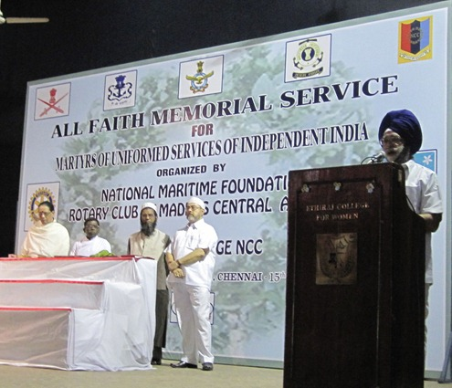 Chennai_2012_All_Faith_Memorial_Service_NMF_Rotary_Club_Ethiraj_College_5