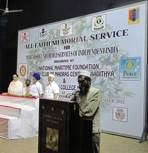 Chennai_2012_All_Faith_Memorial_Service_NMF_Rotary_Club_Ethiraj_College_6