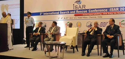 Chennai 3rd International Search and Rescue Conference (ISAR 2013)_2.18