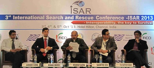 Chennai 3rd International Search and Rescue Conference (ISAR 2013)_2.6