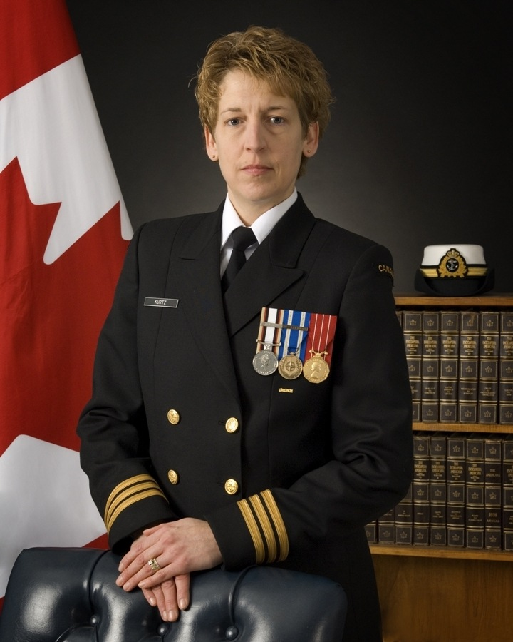 Image result for Royal Canadian Navy officer Josee Kurtz