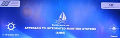 AIMS_2014_Conference_Approach_Integrated_Maritime_Systems_Chennai_1
