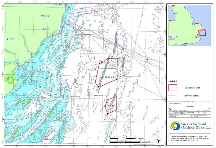 Greater Gabbard Offshore Wind Farm in UK to be Ready by 2011