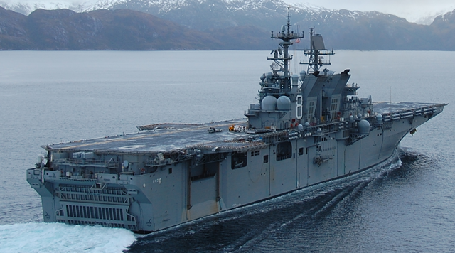Green Ship Uss Makin Island Lhd 8 Ready For Commissioning
