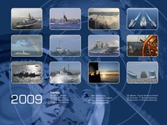German_Navy_Calendar_Ships2009