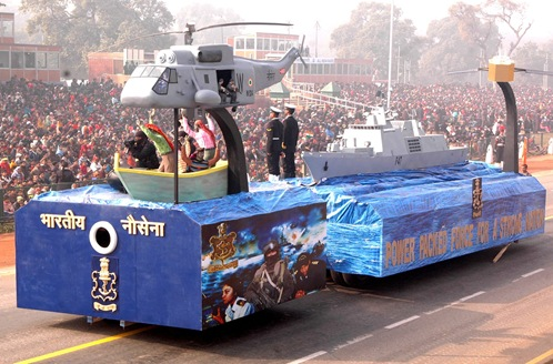 INS_Shivalik_Republic_Day_Parade_2010_tableau