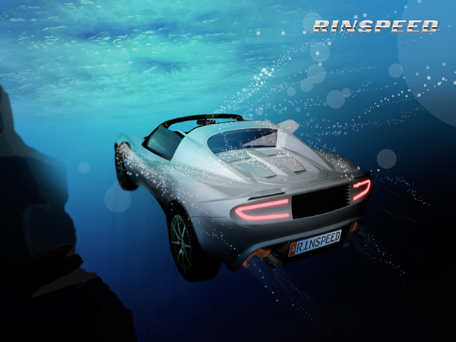 Rinspeed Ready To Launch Zero Emission Squba Underwater Car