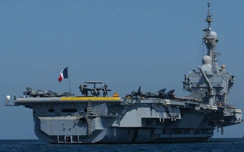 Indian Aircraft Carrier on French Aircraft Carrier Charles De Gaulle