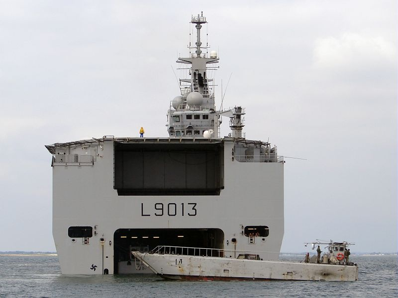 Helicopter Carrier Mistral